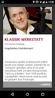 Screenshot of Kulturradio