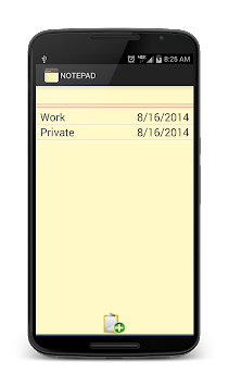 Notepad APK screenshot thumbnail 3