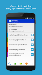 Connect to Hotmail Outlook App