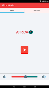 AfricaU Radio - screenshot