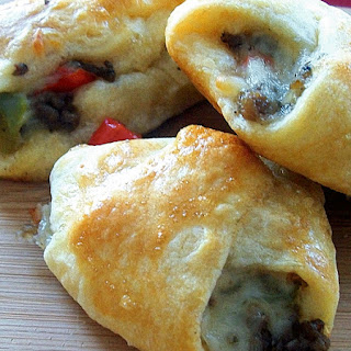 Philly Cheese Steak Crescent Bites