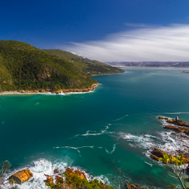 Knysna  by Wim Moons - Landscapes Waterscapes ( knysna, leisure isle, zuid-afrika, zaf )