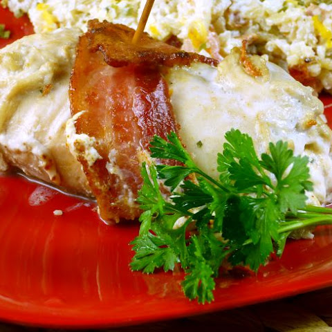 BACON WRAPPED CHICKEN WITH CREAM CHEESE