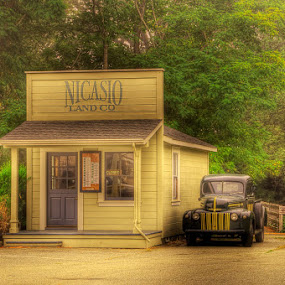 Nicasio Land Office by John Klingel - Landscapes Travel