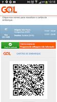 Screenshot of GOL - Check-in e Antecipar Voo