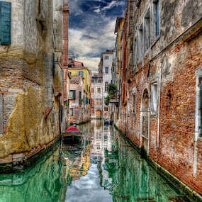 Venice, Italy by Khaled Ibrahim - City,  Street & Park  Historic Districts