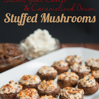 Stuffed Mushrooms With Goats Cheese And Bacon Recipes