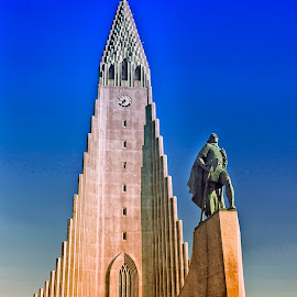 Hallgrimskirkja by Stanley P. - Buildings & Architecture Places of Worship