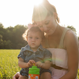 Mommy and Me by Ashley McCoy - People Family ( natural light, babygirl, mommy, lifestyle, mommy and me )