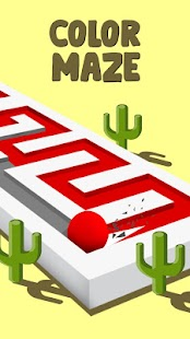 Color Maze: Relaxing and Amazing Paintball Puzzles for pc
