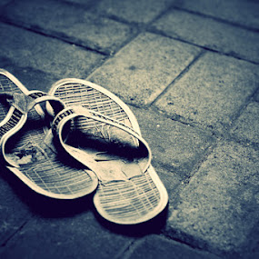 Broken Sandals   by Joseph Basukarno - Artistic Objects Other Objects