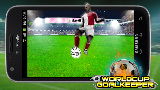 Goal Keeper World Cup 2014 screenshot 2