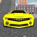 Yellow Sports Car Driving APK baixar