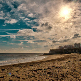 Broadstairs Beach - Fri 8-2-13 by Mick Heywood - Landscapes Beaches