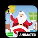 Santa Dance Animated Keyboard + Live Wallpaper Icon