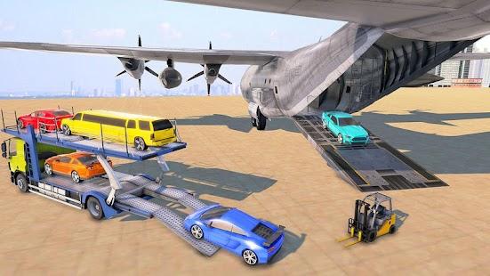Car Transporter Truck Driver:Cargo Plane Simulator for pc