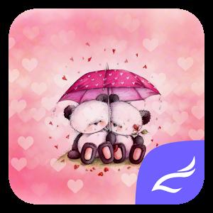 Розовый Медведь Тема