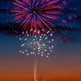 Shine by Madhujith Venkatakrishna - Abstract Fire & Fireworks