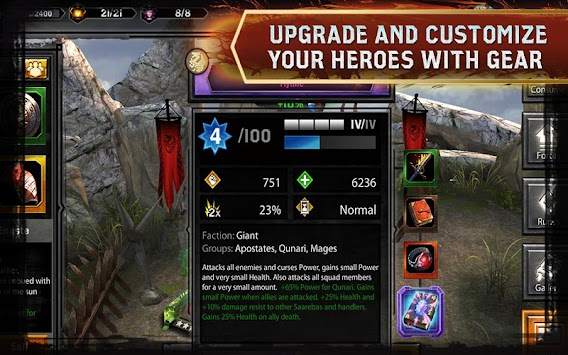 Heroes Of  Dragon Age APK screenshot thumbnail 2