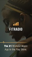 Screenshot of FIT Radio Workout Music