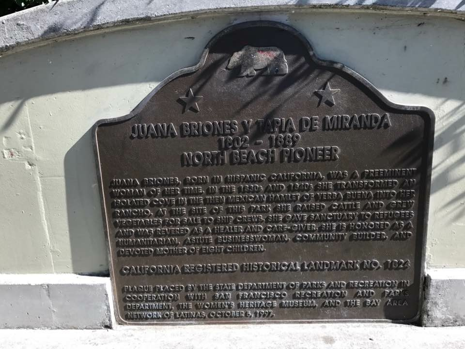 JUANA BRIONES, BORN IN HISPANIC CALIFORNIA, WAS A PREEMINENT WOMAN OF HER TIME. IN THE 1830S AND 1840S SHE TRANSFORMED AN ISOLATED COVE IN THE THEN MEXICAN HAMLET OF YERBA BUENA INTO HER RANCHO. AT ...