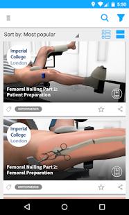 Touch Surgery - Medical App- screenshot thumbnail