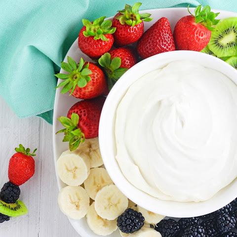 Skinny Cream Cheese Fruit Dip