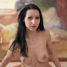 April by Konrad Strahlemann - Nudes & Boudoir Artistic Nude