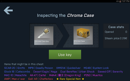 Case Opener Screenshot