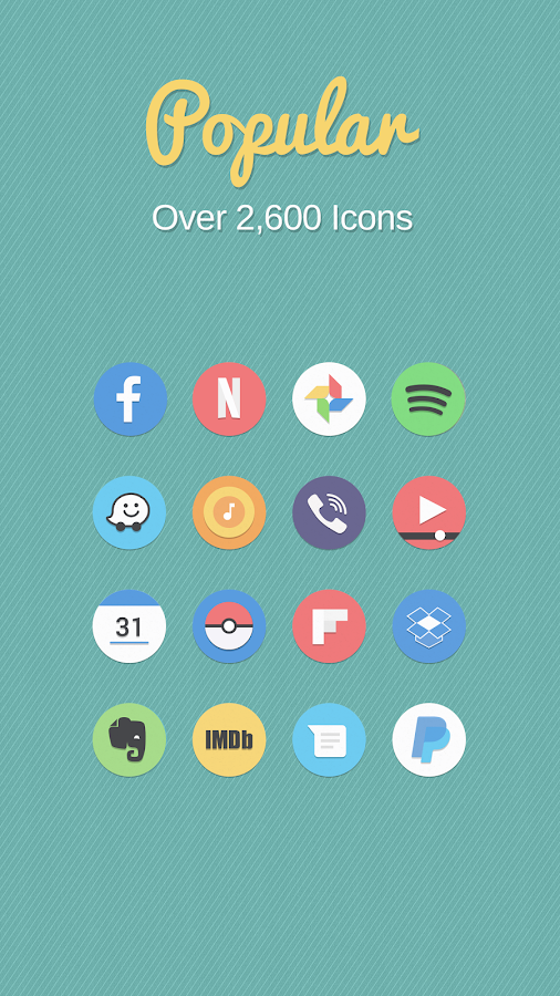 Flatro Icon Pack Screenshot 1