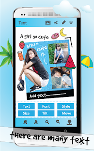 TextEditor Photo Collage Maker - screenshot