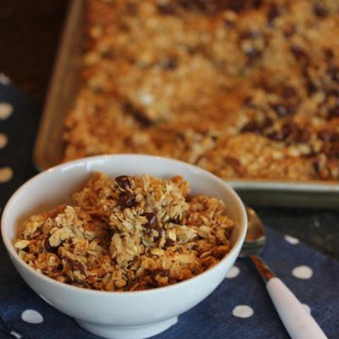 Chocolate Chip Coconut Granola {aka Mounds Bar Granola}