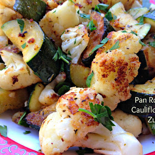 Cauliflower Zucchini Recipes