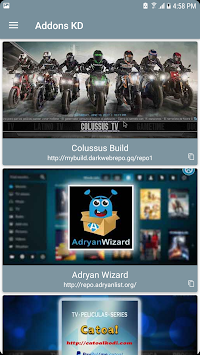 Addons KD APK screenshot thumbnail 2
