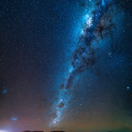 Cosmic Wonderland by Clive Wright - Landscapes Starscapes ( mountains, milky way, night, nightscape, dark, stars )