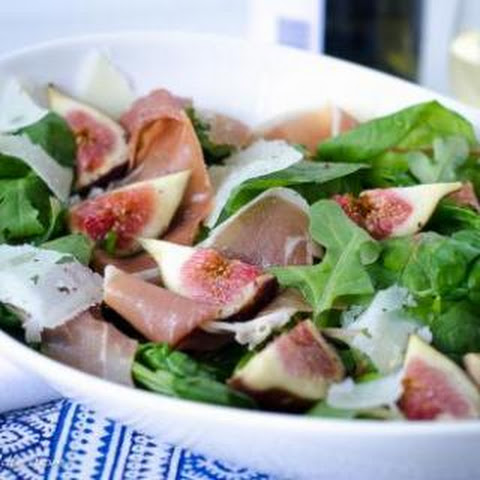 Fig, Prosciutto and Manchego Salad