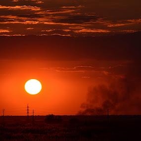 Apus de Soare by Kati Raileanu - Landscapes Sunsets & Sunrises