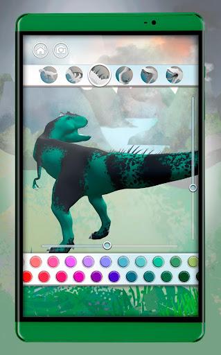 Dinosaurs 3D Coloring Book screenshot 13