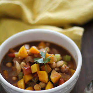 Butternut Squash and Chickpea Chili