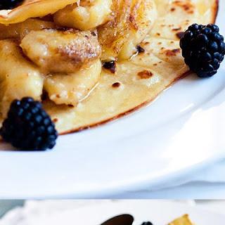 Fried Banana Crepes Recipes