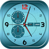 Free Download Clock Wallpapers Real Time APK for Samsung