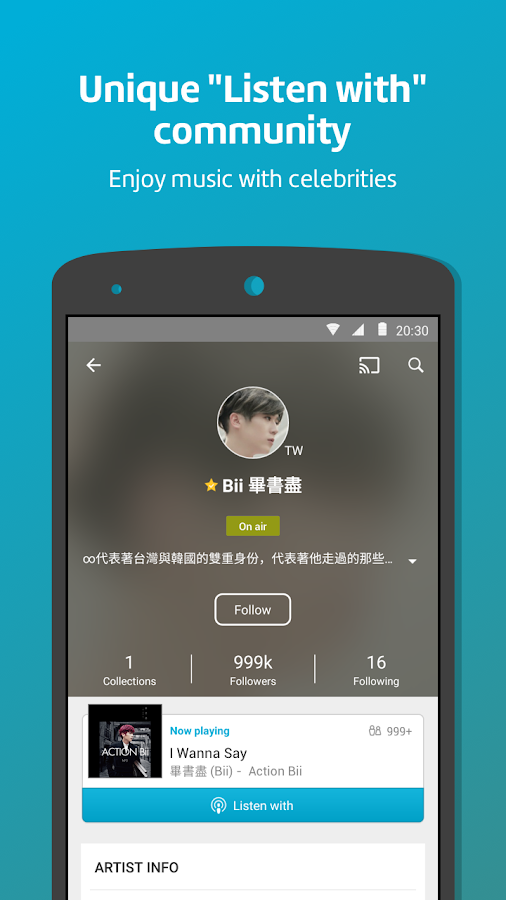 KKBOX- Let's music ! Screenshot 2