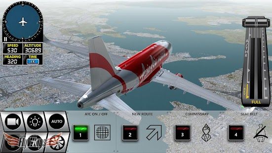 Game Flight Simulator X 2016 Free APK for Kindle
