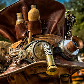 SteamPunk Hat by Dragan Rakocevic - Artistic Objects Clothing & Accessories