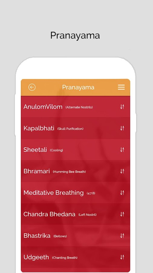 7pranayama yoga breath Relax Screenshot 2
