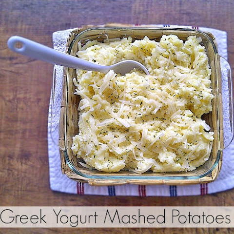 Creamy Greek Yogurt Mashed Potatoes