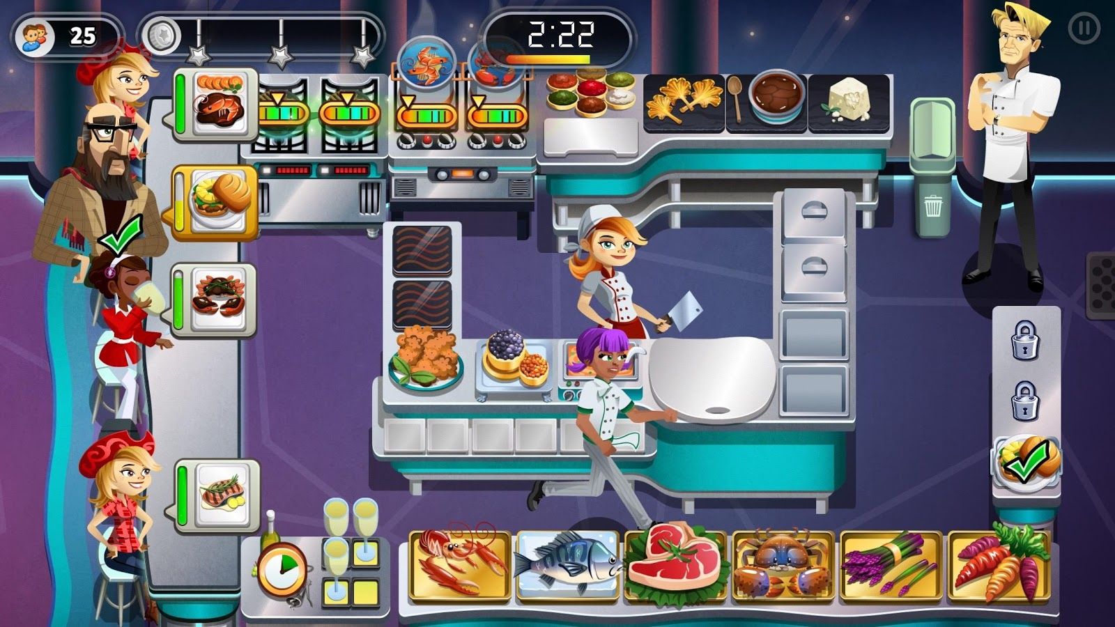 RESTAURANT DASH: GORDON RAMSAY Screenshot 13