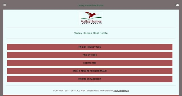 Valley Homes Real Estate - screenshot
