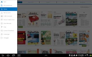 Screenshot of Consumentenbond Kiosk