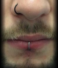 mouth piercing | D'Angel's Tattoos